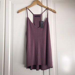Abercrombie & Fitch Dusty Rose Ribbed Cami